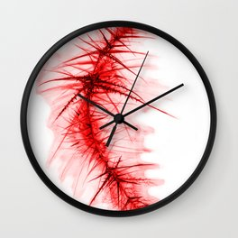 stake red 1 Wall Clock