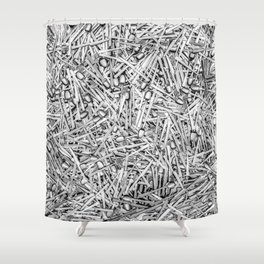 Cutlery Shower Curtain