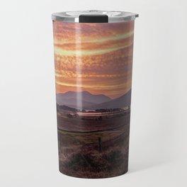 Scotland Ben Nevis mountain at sunrise Travel Mug