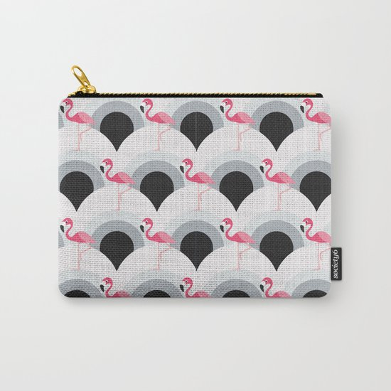 Flamingos Pattern Carry-All Pouch