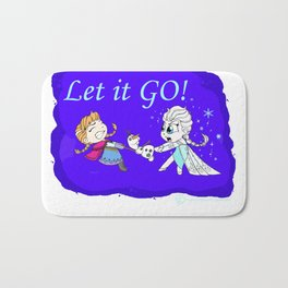 Let it GO! Bath Mat
