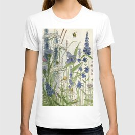 Wildflowers 2 watercolor T-shirt