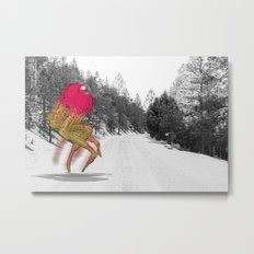 Unseen Monsters of Mount Shasta - Peawil Mousec Metal Print