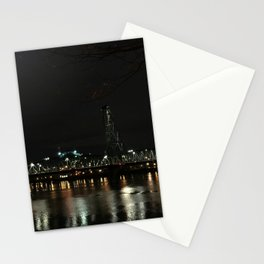 PDX Lights Stationery Cards