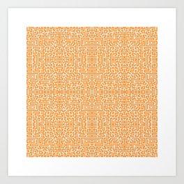 Symmetry 8 Art Print