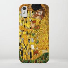 The Kiss Painting Gustav Klimt iPhone Case