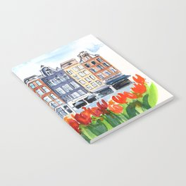 Amsterdam watercolor Notebook