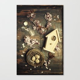 Easter composition Canvas Print