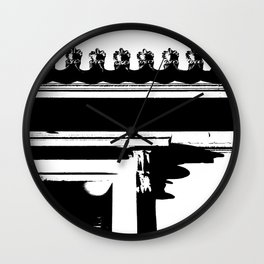 Neoclassical view Wall Clock