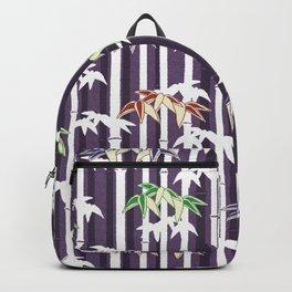 Vintage Japanese Bamboo pattern Backpack