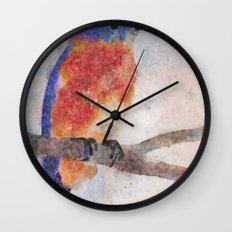 Little Bluebird Wall Clock