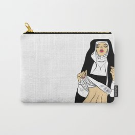 sexy nun Carry-All Pouch