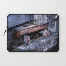 Left and Forgotten a little red wagon Laptop Sleeve