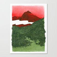W #1 Canvas Print
