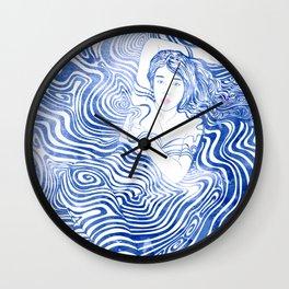 Water Nymph XLIV Wall Clock