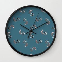 Marvin the Lemur Wall Clock