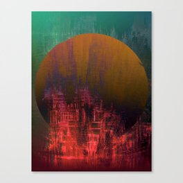 Fantastic Planet / Urban Fantasy Canvas Print