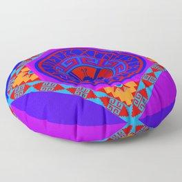Astrological Hunab Ku Floor Pillow
