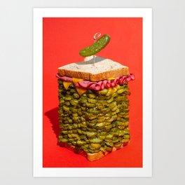 Over Indulgence Art Print
