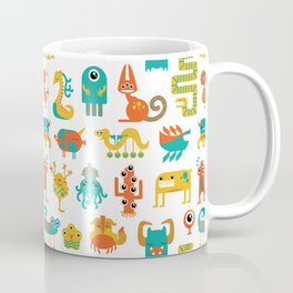 Colorful monster pattern Coffee Mug