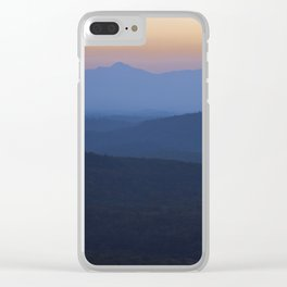 Romantic Evening Clear iPhone Case