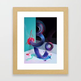 Atypical 3 Framed Art Print