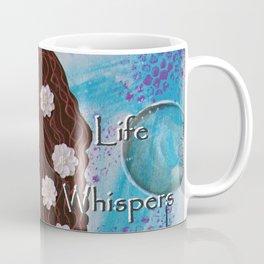 Aloha Girl, Mixed Media Coffee Mug