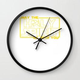 God Jesus Holy Spirit Wall Clock