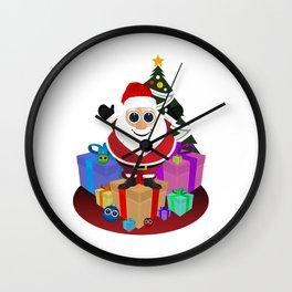 Santa Claus - Christmas Wall Clock