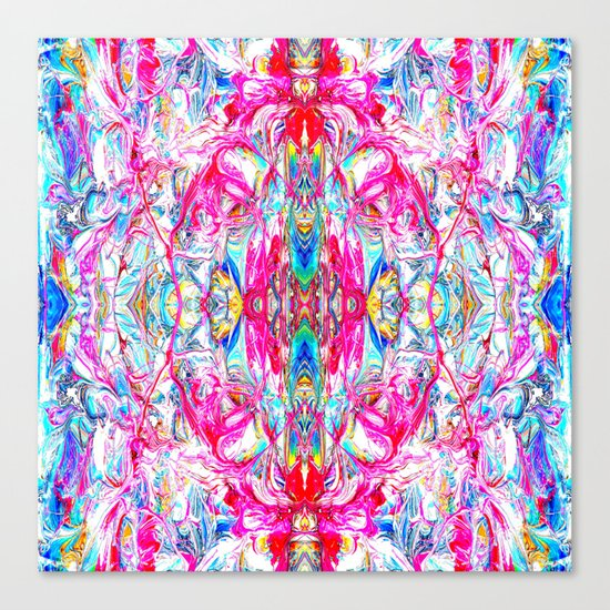 Sophisticated Psychedelic Boho II Canvas Print