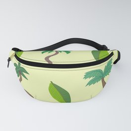 Palm Tree Vibes Fanny Pack