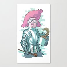 Dona Dulce and her magic spaghetti Canvas Print