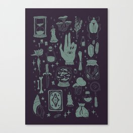 Witchcraft 2 Canvas Print