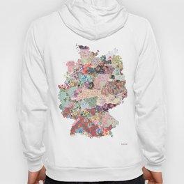 Germany map Hoody