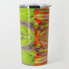 Nuclear Cell Spindle Pattern Travel Mug
