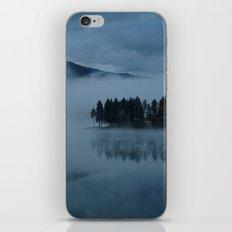 Foggy lake morning iPhone & iPod Skin