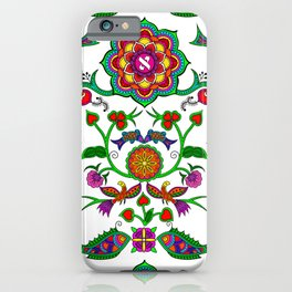 The fruit of Life iPhone Case