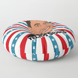 Obama, yes you should! Floor Pillow