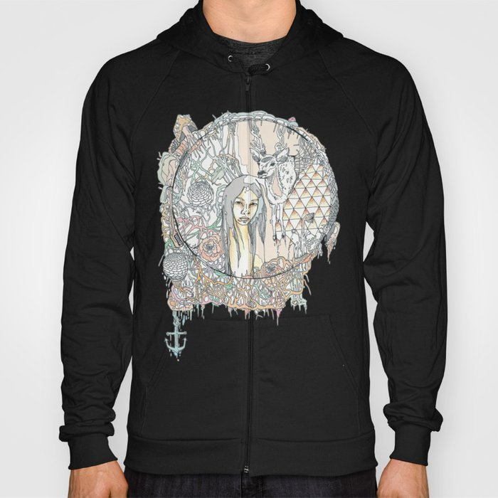 forest & branches Hoody
