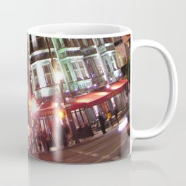Sentinel Building at Night Coffee Mug
