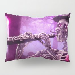 """""""Move your body!"""" - The musician skeleton Pillow Sham"""