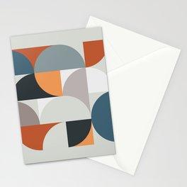 Mid Century Geometric 11 Stationery Cards