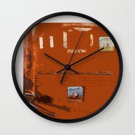 vintage lifestyle Wall Clock
