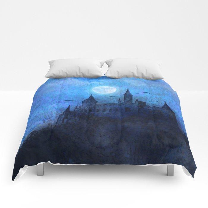 Mystical castle Comforters