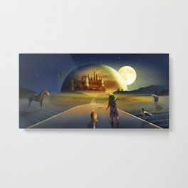 The view to the world of fairy tales Metal Print