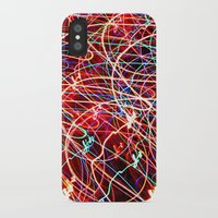 the lights iPhone & iPod Cases featuring Lights by Serena Gailey