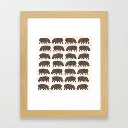 Hippo,hippo Gerahmter Kunstdruck