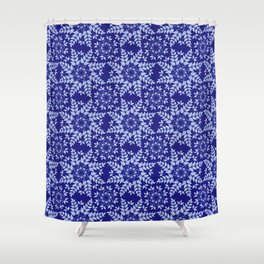 Branches with leaves in a wonderful pattern Shower Curtain