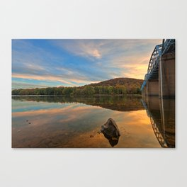 Point of Rocks Sunset Canvas Print