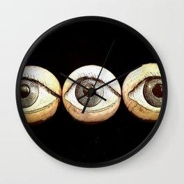 Three Eyes Watching You, Eyeballs Wall Clock